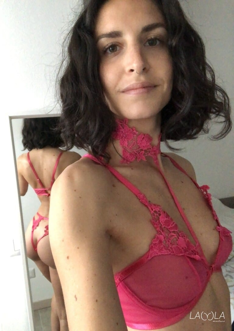 Lingerie sexy rosa